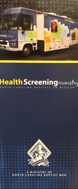 Health Screening Brochure